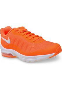 Tenis Masc Nike 749680-810 Air Max Invigor Laranja Neon