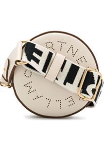 Stella Mccartney Bolsa Transversal Stella Mini Com Logo - Branco