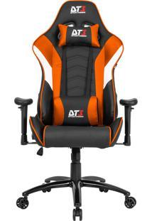 Cadeira Gamer Dt3Sports 10636-6 Elise Reclinável Preta E Laranja