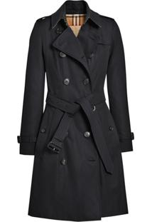Burberry The Chelsea Heritage Trench Coat - Azul
