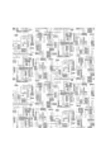 Papel De Parede Adesivo Decoração 53X10Cm Bege -W22547