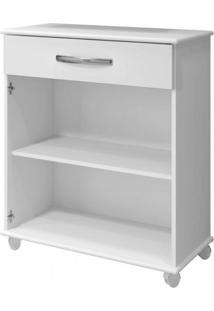 Conjunto Balcão De Cozinha 2 Portas 1 Gaveta E Armário Aéreo 2 Portas Arte Móveis Branco
