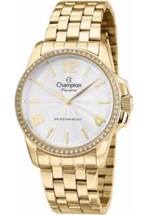 d738ae33b4b ... Relogio Champion - Cn29801H - Feminino-Dourado