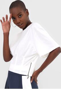 Camiseta Forum Pregas Off-White - Kanui