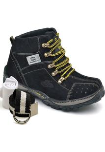 Kit Bota Adventure Dexshoes Com Cinto E Meia - Masculino