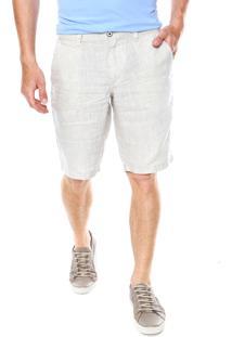 Bermuda Linho Aramis Chino Branca