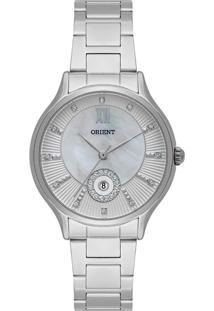 Relógio Orient Feminino Madrepérola Analógico Prata Fbss1149-B3Sx - Kanui