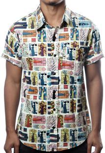 Camisa Camaleão Urbano Vintage Bege