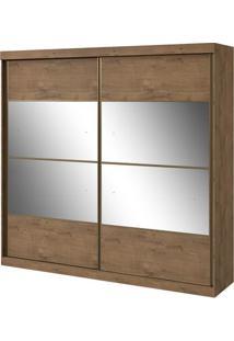 Guarda-Roupa Da Vinci New - 2 Portas - Carvalho Soft - Com Espelho