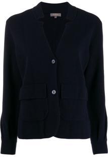 N.Peal Blazer De Cashmere 'Milano' - Azul