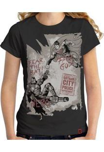 Camiseta Cinza Trico feminina  1274dcfdf5a51