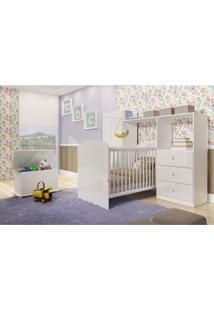 Dormitório De Bebê Ninar Branco