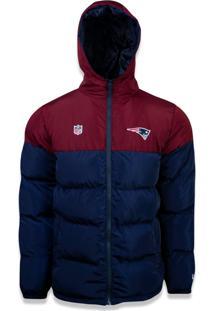 Jaqueta New Era Bomber New England Patriots Vermelho/Marinho