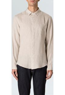 Camisa Masc Classic Linen Ml