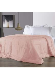 Edredom Queen Altenburg 230 Fios Antimicrobiano Com Tencel Four Seasons Rosebloom - Rosa Rosa - Tricae