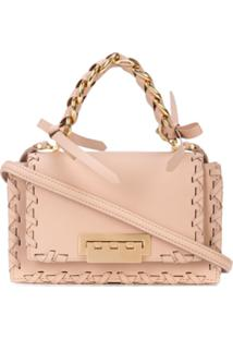 Zac Zac Posen Bolsa Mini Com Corrente Earthette - Rosa