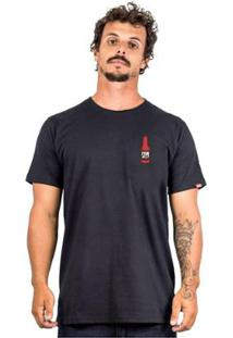 Camiseta Alfa Bottle 2 - Masculino-Preto