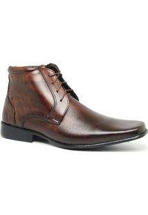 Bota Masculina Estilo Social 15019 Cor Tamarindo Keep Shoes - Masculino