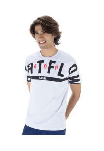 Camiseta Fatal Estampada 23026 - Masculina - Branco