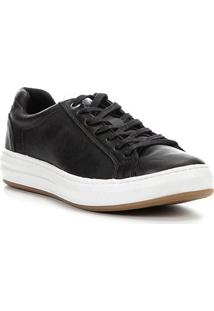 Sapatênis Couro Shoestock Sides Masculino