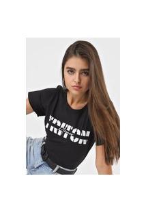 Camiseta Triton México Preta