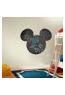 Adesivo De Lousa Para Parede Mickey 18 - G 60X72Cm