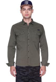 Camisa King&Joe Verde Militar