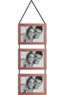 Porta-Retrato 10X15 Simple Cobre