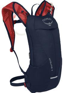 Mochila De Hidratação 7 2,5 Litros Osprey Kistuma Para Ciclismo Azul