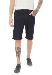 Bermuda Jeans Hd Slim Ly Azul