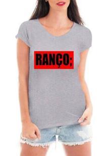Camiseta Criativa Urbana Ranço Blusa Feminina - Feminino