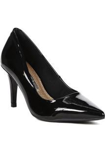 Sapato Scarpins Feminino Via Marte Preto