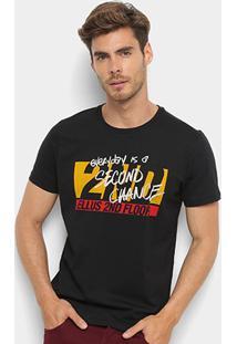 Camiseta Ellus 2Nd Floor Basic Masculina - Masculino