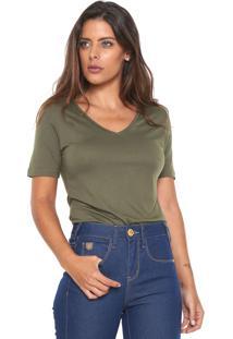 0920f1a4ce72f Camiseta Calvin Klein Ombro feminina   Shoelover