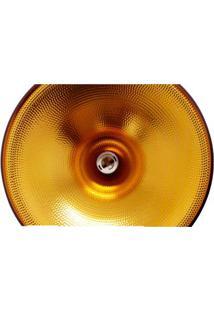 Pendente De Alumínio Chamonix Para 1 Lâmpada E27 Preto Ol