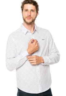 Camisa Colcci Bordado Branca