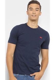 Camiseta Lacoste Live Masculina - Masculino-Marinho