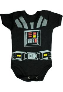 Body Bebê Piftpaft Geek Fantasia Enxoval - Unissex