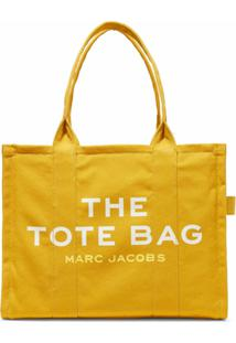 Marc Jacobs Bolsa Tote The Traveler - Amarelo