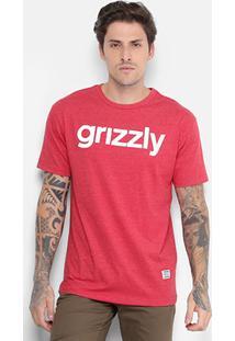 Camiseta Grizzly Lowercase Logo Masculina - Masculino