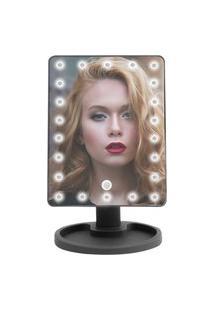 Espelho Vivitar Para Maquiagem Vanity Mirror Com Iluminaçáo De 22 Leds Preto