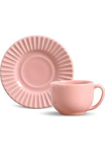 Jogo De 6 Xícaras De Chá Plissé - Unissex