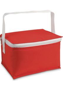 Bolsa Térmica Pequena Basic Topget Vermelho