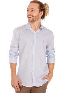 Camisa Side Walk Camisa Rock Azul