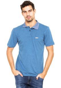 Camisa Polo Mr Kitsch Mr281003 Azul