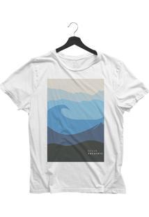 Camiseta Jay Jay Básica Ocean Preserve Branca Dtg