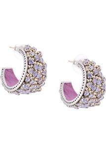 Mignonne Gavigan Kaya Huggie Earrings - Prateado
