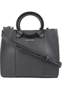 Bolsa Colcci Handbag Cairo Feminina - Feminino-Preto