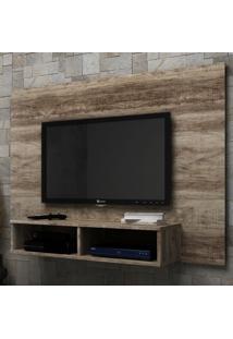 Painel Para Tv Até 40 Polegadas Arya Rústico - Manto Móveis