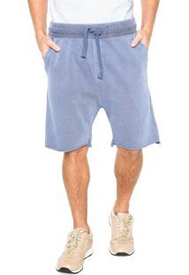 Bermuda Osklen Bolsos Azul